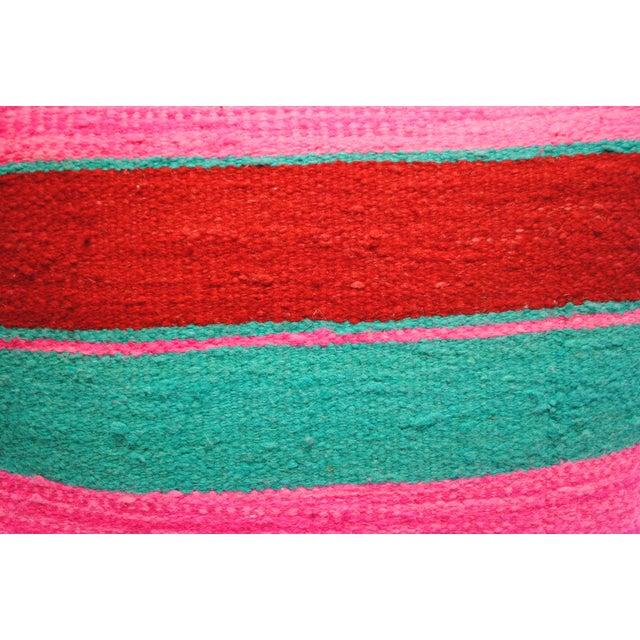 Moroccan Wool Pillow Sham - Image 3 of 4