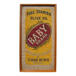Olive Oil Label Graphic Illustration Board