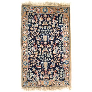 """Hand-Knotted Persian Rug - 1'7"""" X 2'6"""""""