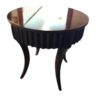 Ethan Allen Round Accent Table