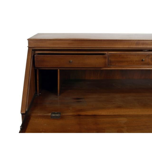 mahogany bureau or secretaire by frits henningsen chairish. Black Bedroom Furniture Sets. Home Design Ideas