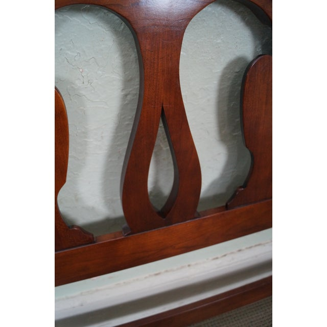 Statton Solid Cherry Queen Size Headboard - Image 6 of 10