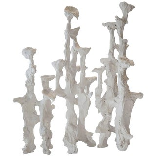 Plaster Abstract Sculptures