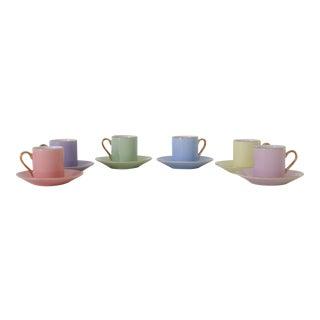 Porcelain Doll Tea Set - Set of 6