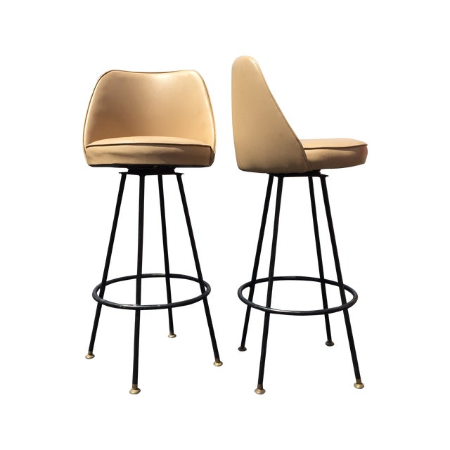Kitchen Bar Stools For Sale In Ireland: Mid-Century Bar Stools By Admiral