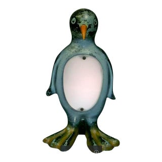 Art Deco Penguin Lamp