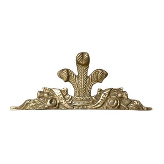 Solid Brass Frame Topper