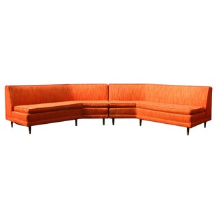 Mid Century Modern 2-Piece Sectional