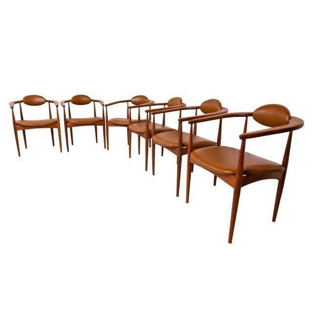 Adrian Pearsall MCM Glass Walnut Dining Table Chairish