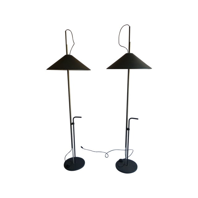 Artemide Lamps by E. Mari & G. Fassina - A Pair - Image 1 of 8