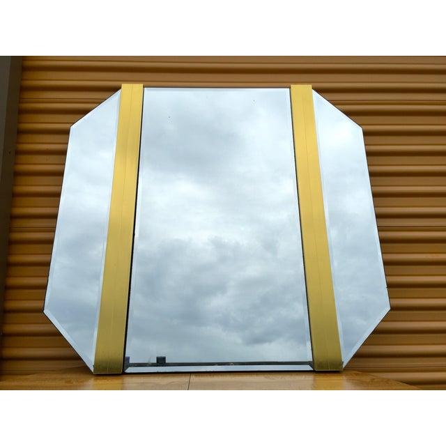Retro Octagon Beveled Glass Mirror - Image 2 of 9