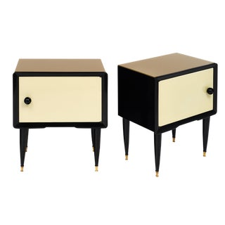 Pair Of Italian Mid-Century Modern Side Tables