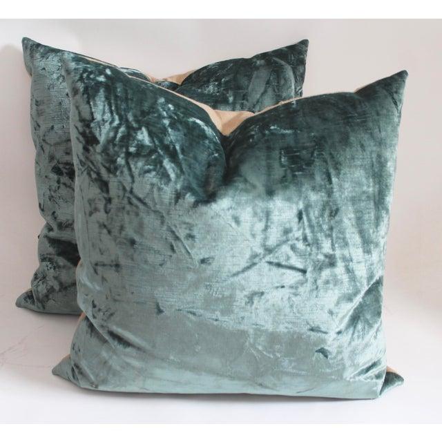 Velvet Pillows - Image 2 of 4