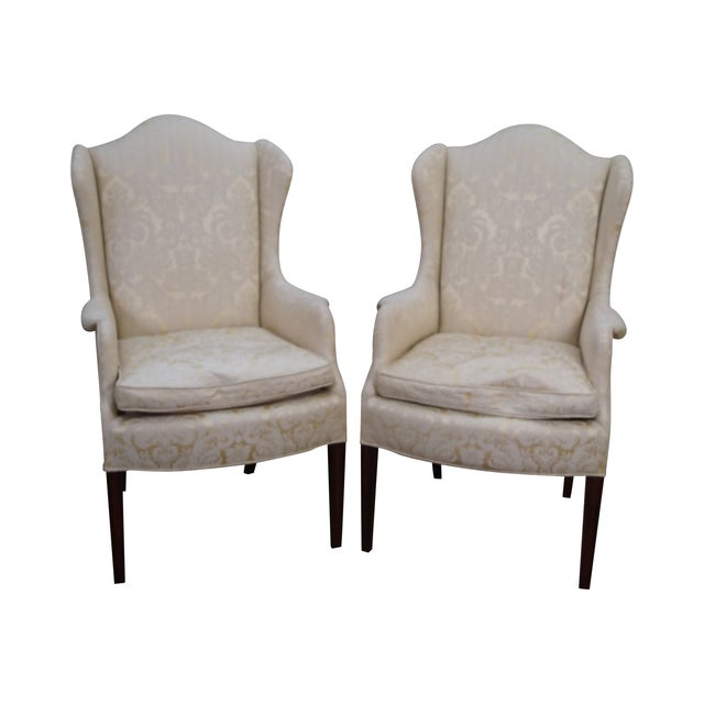Kindel Mahogany Chippendale Style Chairs - A Pair - Image 1 of 10