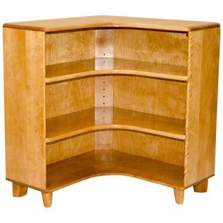 Heywood-Wakefield Mid-Century Corner Bookcase