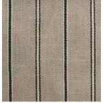 Image of Black Stripe Fabric - 5 Yards