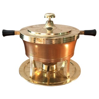 5-Piece Tommi Parzinger Brass Chafing Dish