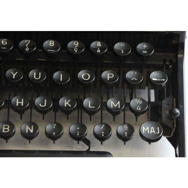 Antique French Portable Typewriter - Image 7 of 10