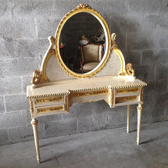 Image of Make Up Table in French Deluxe Style