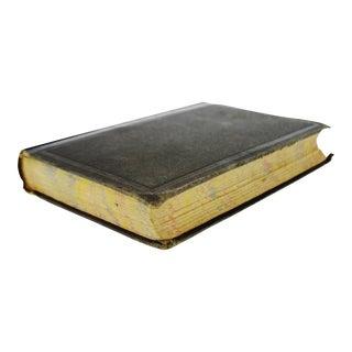 Antique 1871 New Higher Algebra Book by Benjamin Greenleaf