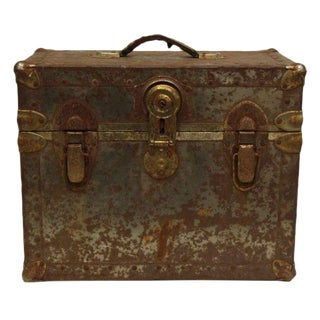 Worn Rusted Industrial Trunk