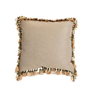 Getty Textured Linen Pillow