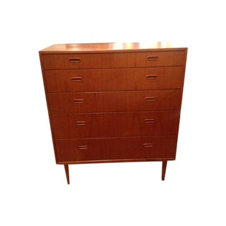 Danish Modern Teak High Boy