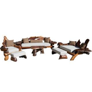 George Buck Complete Set 1960's Redwood Furniture