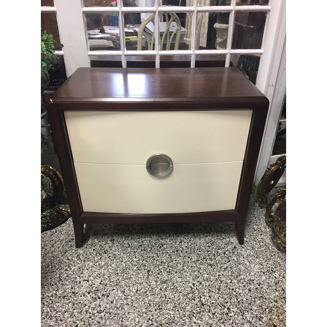 Image of Century 2-Drawer Nightstand Chest