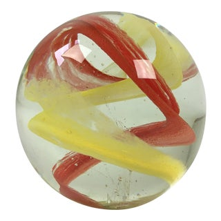 Mid-Century Modern Art Glass Paper Weight