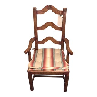 French Ladderback Armchair