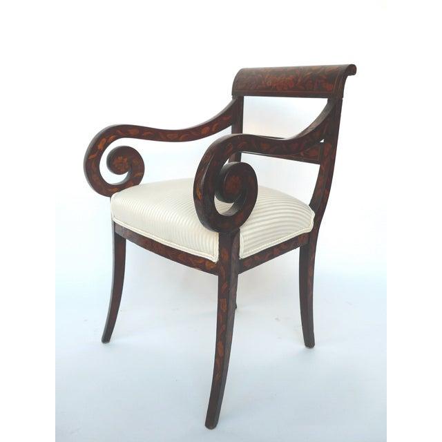 Image of 19th Century Empire-Era Dutch Armchairs - Pair