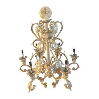 Antique Six-Light Chandelier