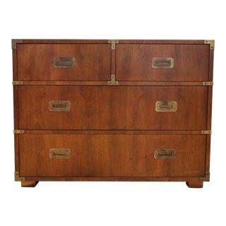 Henredon Campaign Style Vintage Dresser