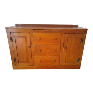 (Last Chance!) Early American Buffet Cabinet