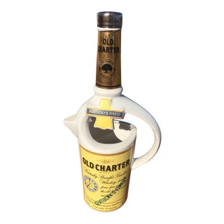 """""""Old Charter"""" Bourbon Whiskey Decanter"""