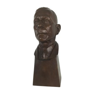 "Carl Mose Bronze ""Young King Henry"" Bust"
