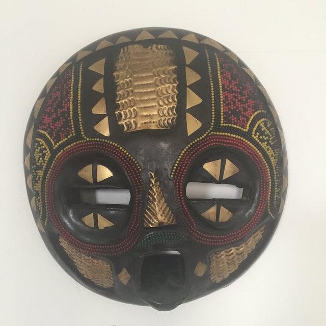 African Ghana Baluba Moon Mask - Image 2 of 6
