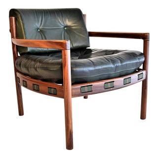 1960s Rosewood Armchair by Arne Norell