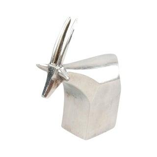 Signed Dansk Design Goat Paperweight