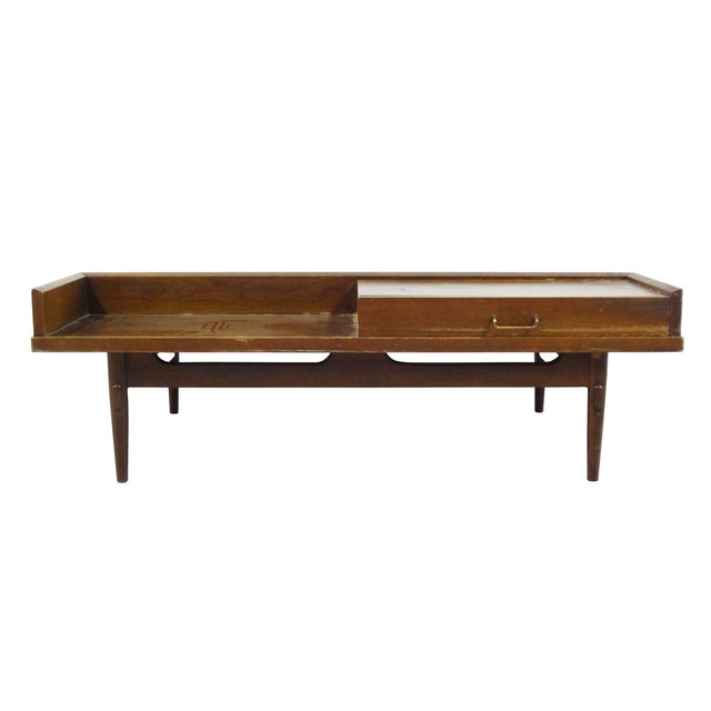 American of Martinsville Coffee Table Bench - Image 6 of 10