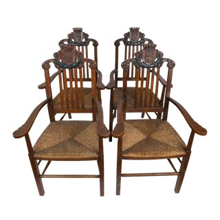 Oak Kings Dining Chairs - Set of 4