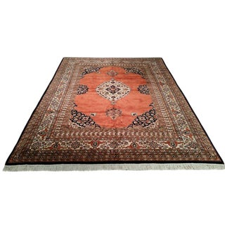 9' X 12' Traditional Hand Made Knotted Rug - Size Cat 9x12
