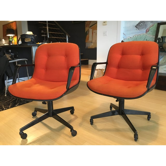 "Steelcase Rolling ""Pollack"" Swivel Office Chairs - Image 3 of 11"
