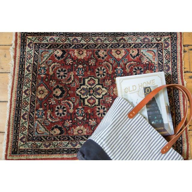 """Vintage Sarouk Rug Mat - 2'1"""" x 2'10"""" - Image 3 of 7"""