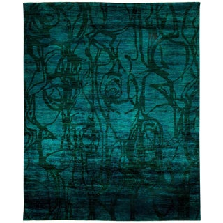 """Vibrance, Hand Knotted Area Rug - 8'4"""" X 10'4"""""""