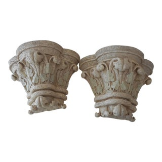 French Italian Wall Brackets - a Pair