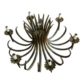 Vintage Spanish Metal Chandilier