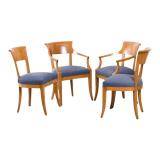 Biedermeier Style Chairs - Set of 4