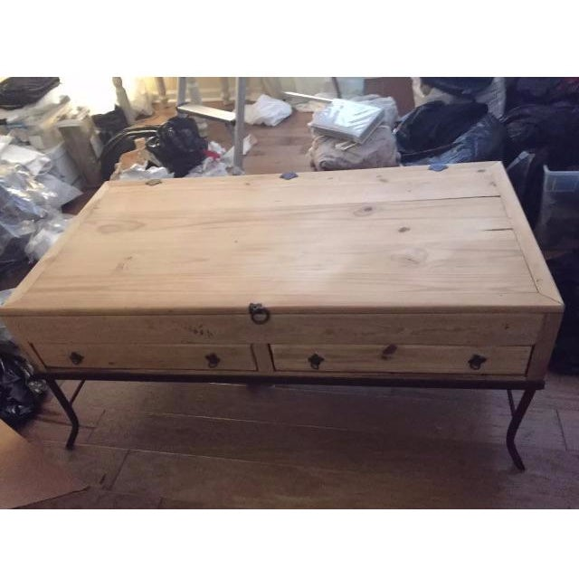 Wooden Apothecary Coffee Table - Image 2 of 9